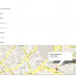 Annuaire - Géolocalisation et visualisation automatique